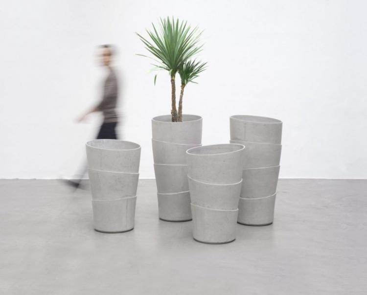Palma Planters by Rainer Mutsch
