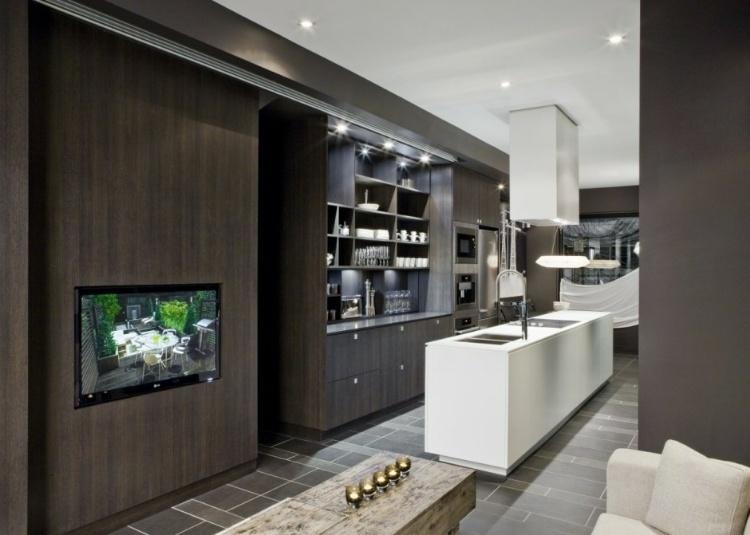 Contemporary model home by cecconi simone