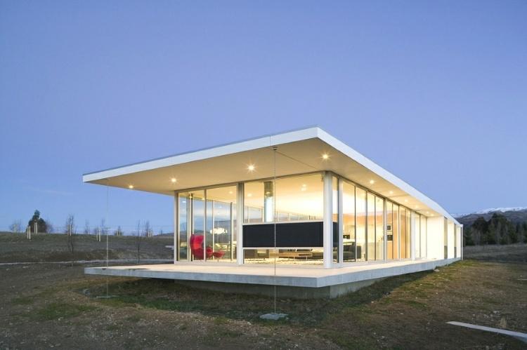 New Single Story Modern Home Design