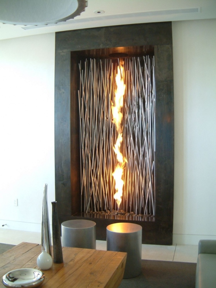 Serenity In Design Modern Interior Fireplaces