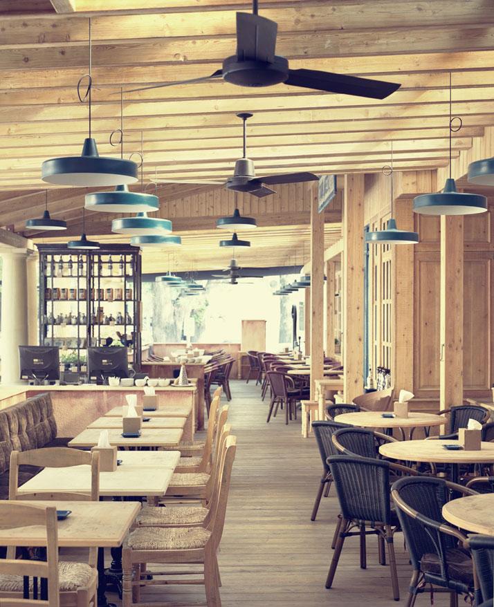 Restaurant and Shop Interiors