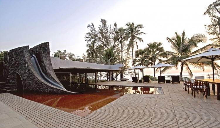 House by the Sea in Maharashtra