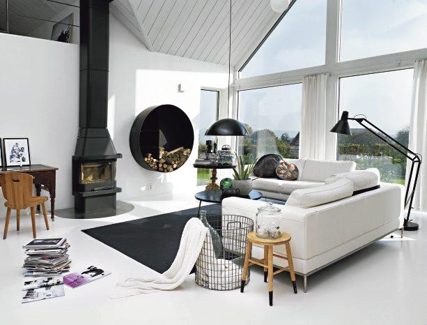 Scandinavian modern house homeadore - Norwegian style house plans when classic meets modern ...