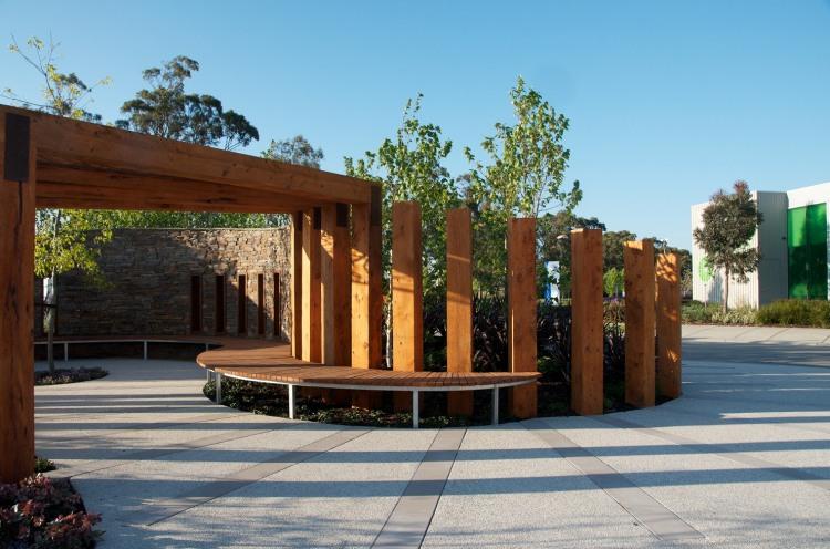 Chelsea Show Garden in Melbourne, Victoria