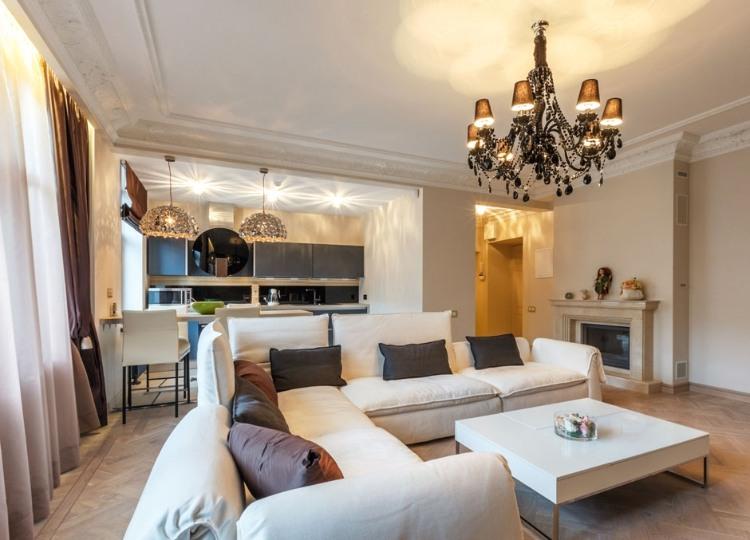 Fancy Apartment In Latvia By Anda Skorodjonoka 171 Homeadore