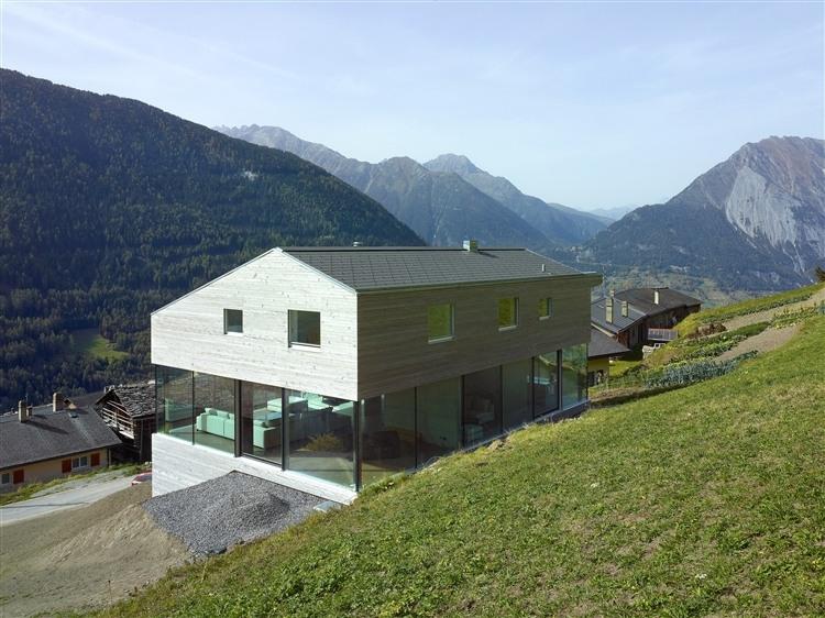 Val d'Entremont House by Savioz Fabrizzi Architectes