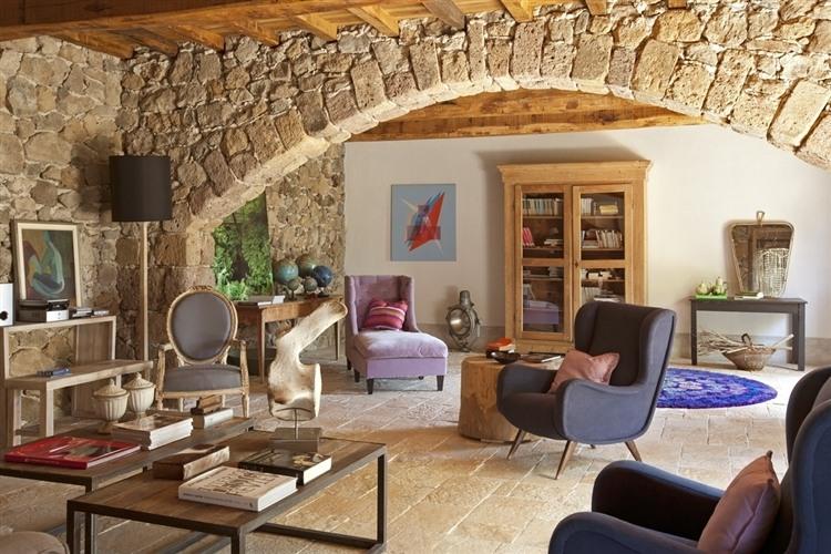 Relax tra gli ulivi by claudia pelizzari homeadore for Decoracion con piedras en interiores