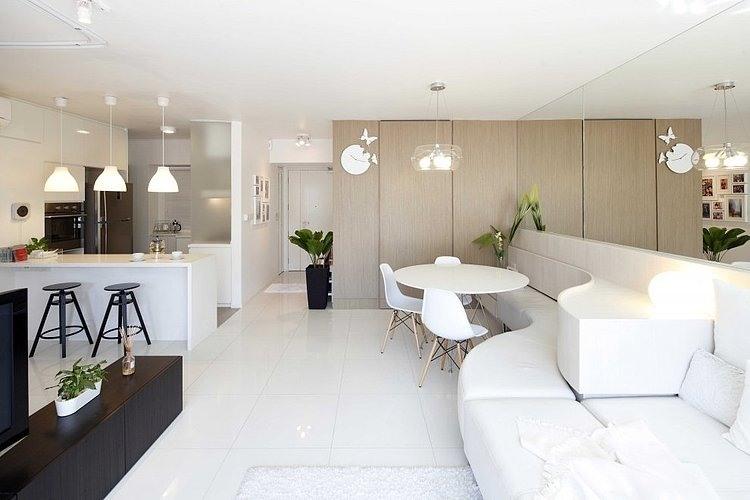 Apartment at Pinnacle Duxton by EHKA Studio