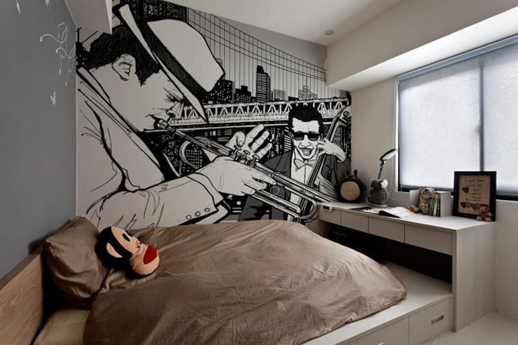 City Never Sleeps Wall Murals