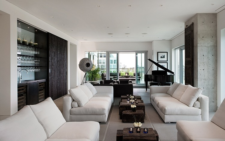 Yorkville penthouse by cecconi simone inc homeadore - Interieurs design ...