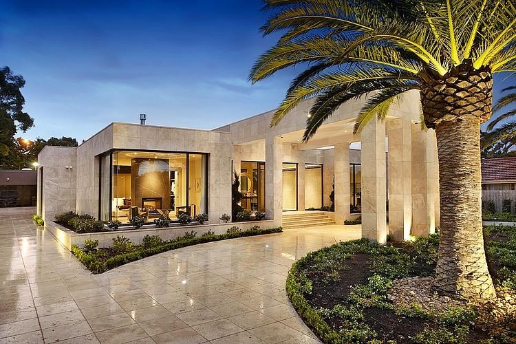 Luxuriuos borell street residence by bagnato architects homeadore - Maison originale bagnato architecte ...