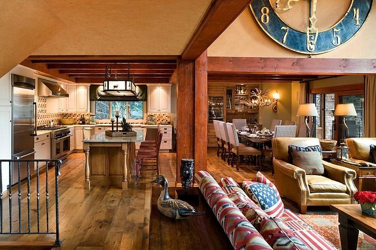Mountain Retreat by Eberlein Design Consultants | HomeAdore