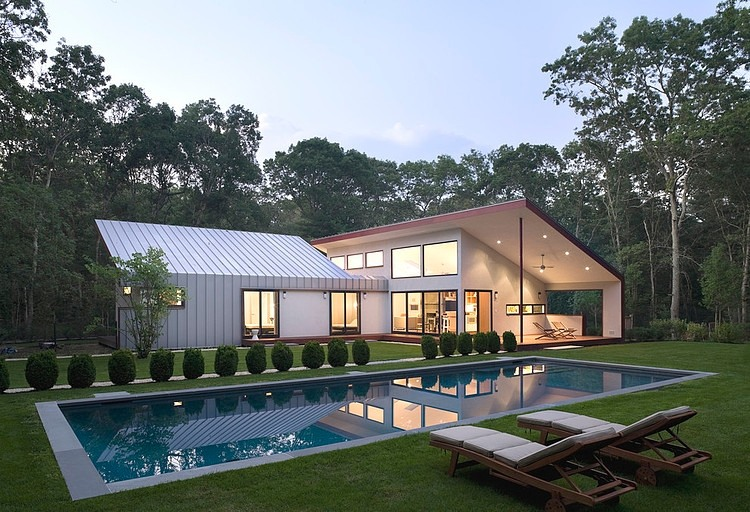 East hampton house by eisner design homeadore for Pool design hamptons