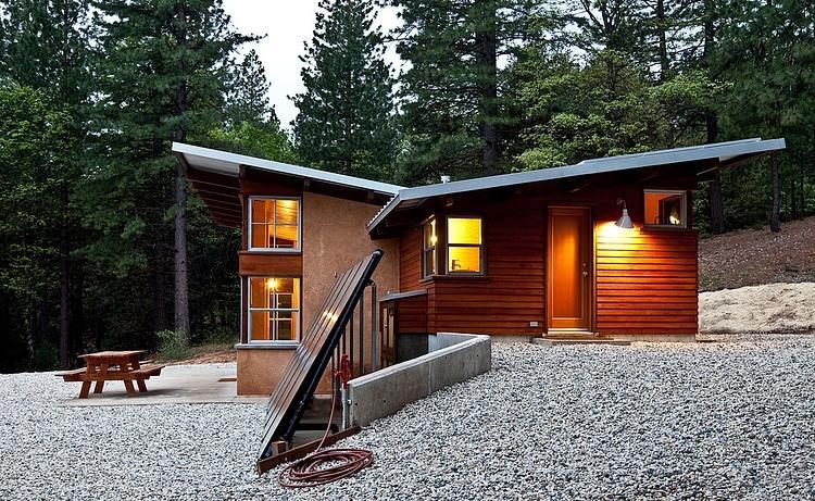 Chalk Hill Cabin by Arkin Tilt Architects