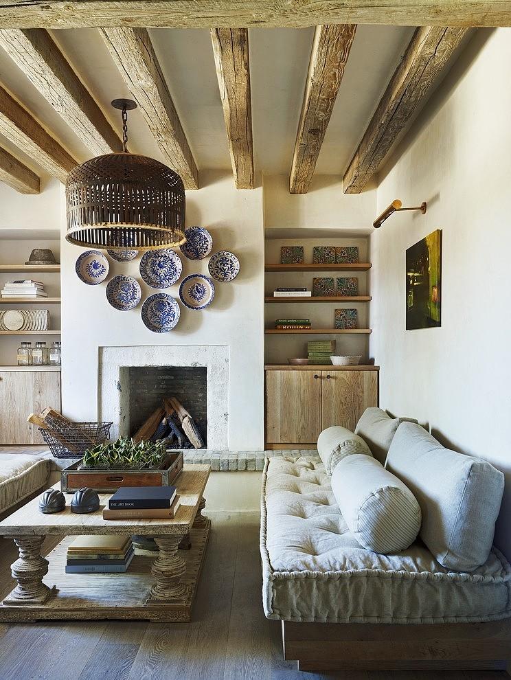 Eclectic Farmhouse by David Michael Miller Associates | Home Adore