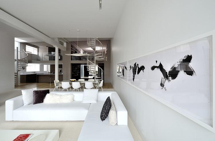 Broadway Duplex Loft by David Hotson Architect
