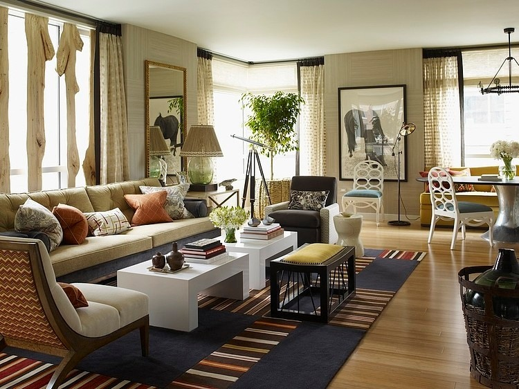 Home Decor Long Living Room: Riverhouse By Thom Filicia « HomeAdore