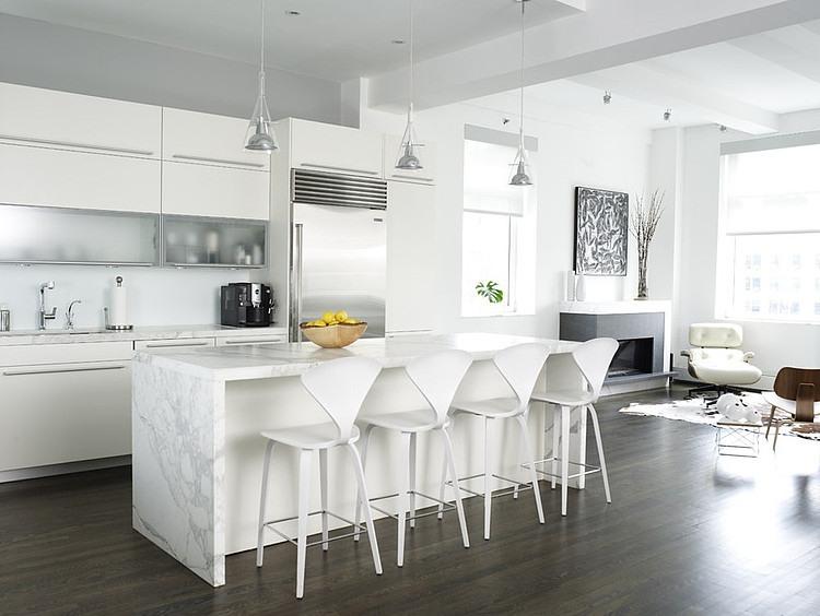 Contemporary loft by chelsea atelier architect homeadore for Shea homes design studio arizona
