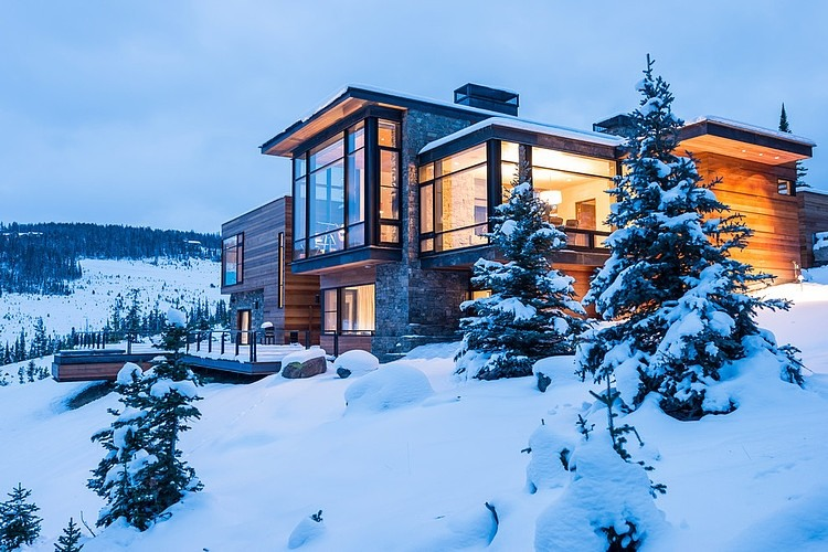 Modern Mountain Retreat by Pearson Design Group | Home Adore