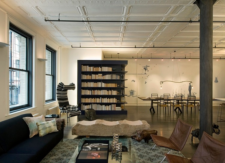 Soho Loft by David Howell Design