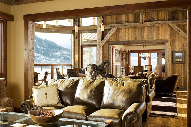 Beartooth Foothills Residence by Montana Reclaimed Lumber Co.