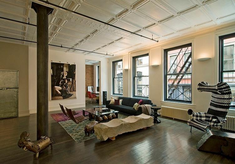 Soho loft by david howell design homeadore for Soho interior design ideas
