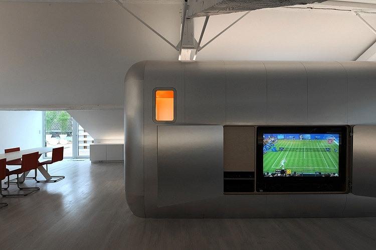 Kempart Loft by Dethier Architectures