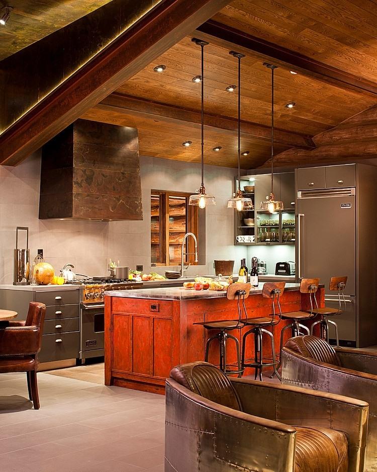Moody cabin by studio frank homeadore for Shea homes design studio arizona