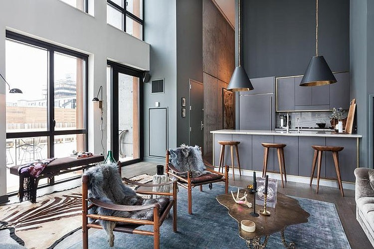 004 contemporary apartment brooklyn york homeadore - Appartement new york brooklyn ...