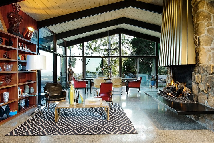 Mid Century House By Native Son Design Studio HomeAdore