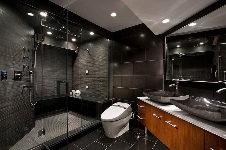 Плитка с узором для ванной комнаты: идеи плитки в ванной с ...