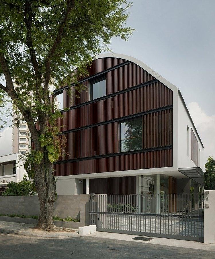 Wind Vault House by Wallflower Architecture + Design