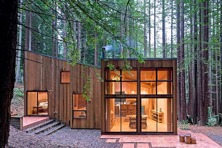 Tiny Home Designs: Sea Ranch Cabin By Frank / Architects