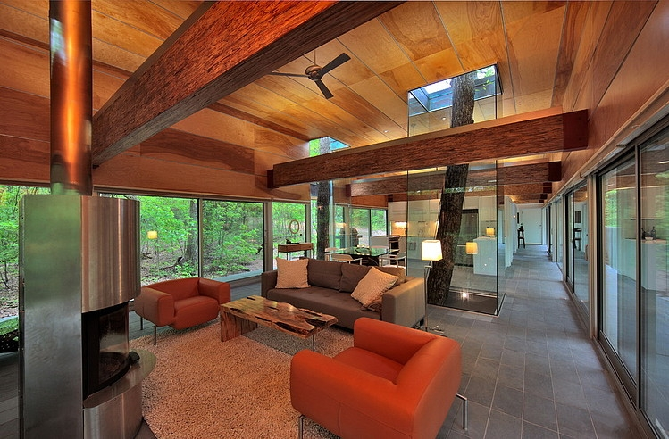 West Virginia Residence by Travis Price Architects