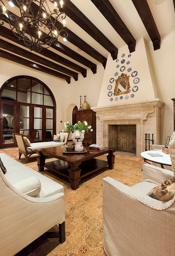 Lake Conroe Spanish by JAUREGUI Architecture Interiors Construction