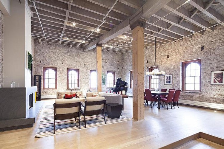 Spacious loft in tribeca homeadore for New york loft apartments