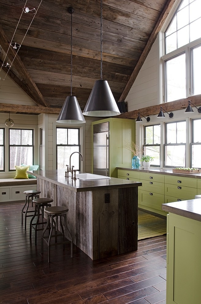 Lakefront Camp by Kristina Crestin Design