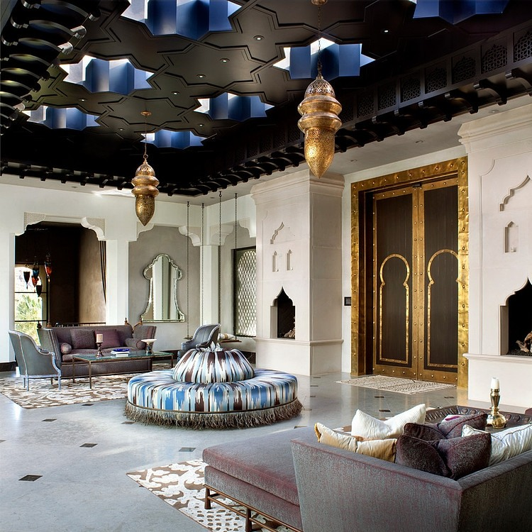 Luxury Ideas For Lavish Living Room Style: Casbah Cove By Gordon Stein Design