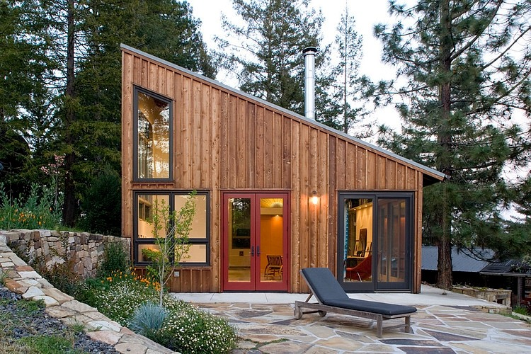 Tiny Home Designs: Russian River Studio By Cathy Schwabe Architecture
