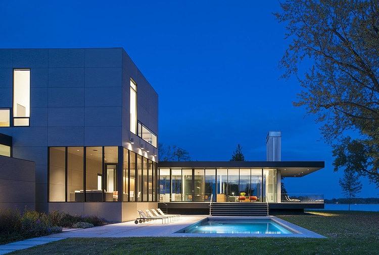Tred Avon River House by Robert M. Gurney Architect