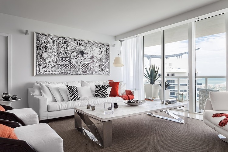 Eclectic Miami Getaway by StyleHaus Design