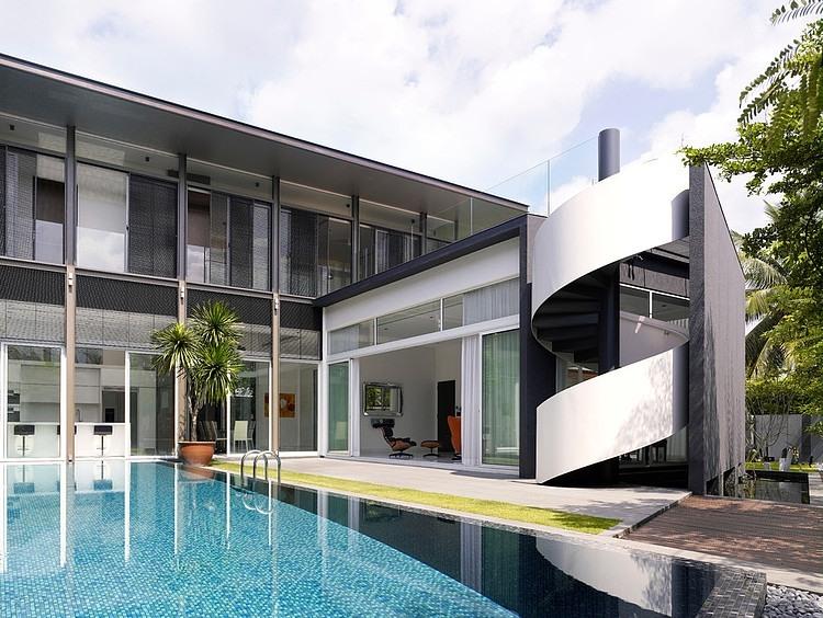 Sunset house by topos design studio homeadore for Shea homes design studio arizona