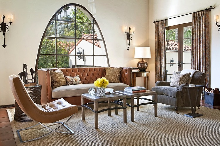 Spanish colonial residence by jonathan winslow design Modern colonial interior design