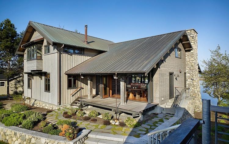 002 lopez island residence graham baba architects homeadore - Fachada de casas rusticas ...