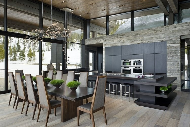 Big Sky Vacation Home By Len Cotsovolos And Lc Design