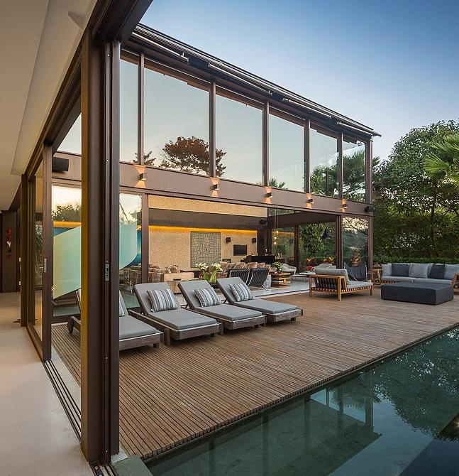Residenz Innenarchitektur treppen design Fernanda marques Limantos villa