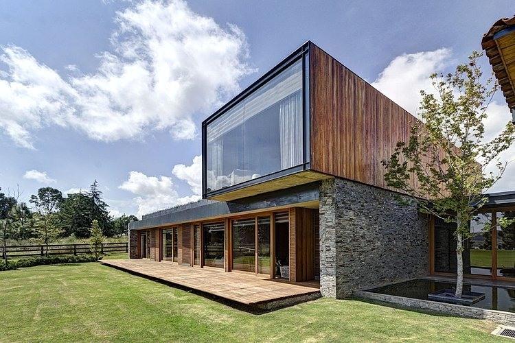 Vr tapalpa house by elias rizo arquitectos homeadore for Portal de arquitectos casa de campo