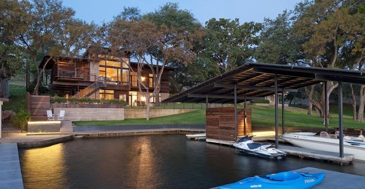 Lakeside Retreat By Lake Flato Architects 171 Homeadore