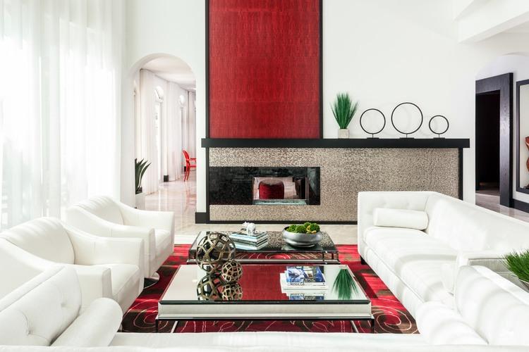 Modern glamour by marilee bentz designs homeadore for Modern glamour interior design