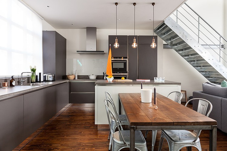 London kitchen by chantel elshout design consultancy for Design consultancy